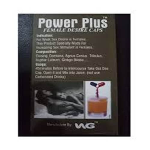 Power Plus Female Desire Capsule In Pakistan